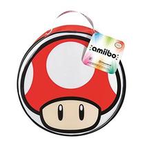 1up Mushroom Estuche Amiibo Case 12 Nintendo Hongo Vida