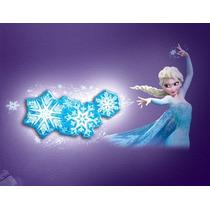 Lampara Elsa Frozen Disney Copos De Nieve Uncle Milton 3d