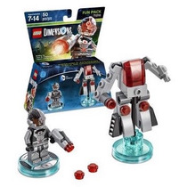 Lego Dimensions Cyborg Dc Comics Armable Nuevo En Caja