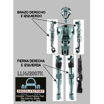 Lote De 4 Piezas Droide Hk-50 Build A Droid (bad) Star Wars