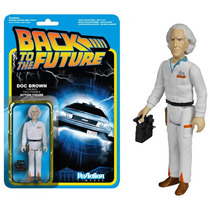 Reaction Back To Future Dr Emmett Funko Volver Al Futuro
