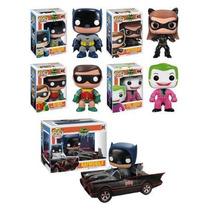 Funko Pop Coleccion Batman Serie 1966 Robin Gatubela Joker