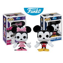 Mickey Mouse Y Minnie Mouse Funko Pop Disney Colección