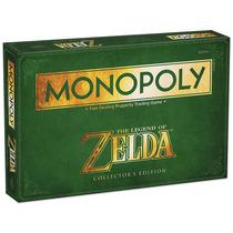 Monopoly Zelda Juego De Mesa Nintendo En Caja Geek Gamer