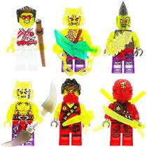 Set Swb Freezer Ninjago 6 Compatibles Con Lego