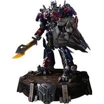 Optimus Prime Statue Transformers Hot Toys Sideshow Autobots