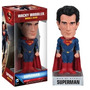 Funko Dc Comics Man Of Steel Superman Wacky Wobbler Nuevo