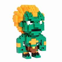 Blanka Street Fighter Bricks Armable Del Videojuego Bloques