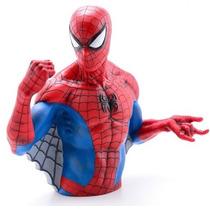 Alcancía De Spiderman Avengers Rojo Marvel Nueva Original