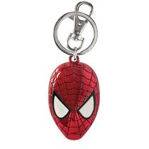 Llavero Spiderman Marvel Mascara Metal Rojo Nuevo Avengers