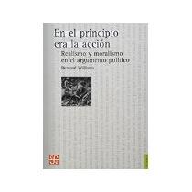 Libro En El Principio Era La Accion *cj
