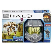 Halo Megabloks Playset Casco Helmet Nuevo En Caja Colecciona
