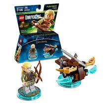 Lego Dimensions Legolas El Señor De Los Anillos Lord Of The