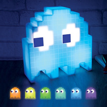 Lampara Fantasma De Pacman Ghost Light Oficial Cambia Color