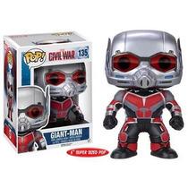 Funko Pop Giant Man Ant-man Civil War Gigante Capitan Americ