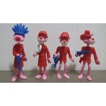 Pantera Rosa Huevo Kinder 4 Figuras