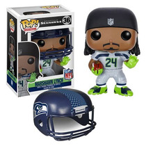 Funko Pop Nfl Marshawn Lynch Seahawks Seatle Visitante