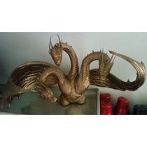 King Ghidorah Classico Godzilla Busto Alcancia Bandai Figura