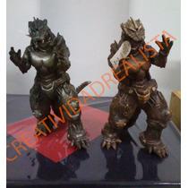 Godzilla Robot De Plastico Durable Flexible Padrisimo Detall