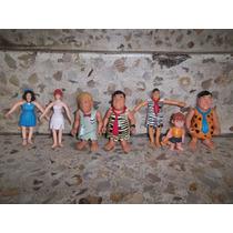 Lote Figuras Los Picapiedras De Coleccion Exelnete Estado