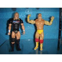 Wwe Raw Hulk Hogan Y Tripe H He-man Star-wars Mask Tmnt