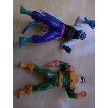 Figuras De Metal De Marvel Dr. Opto Pus Y Lagarto