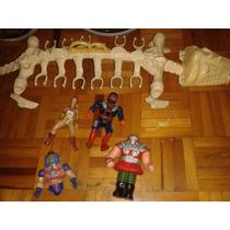 Super Lote He-man Huesodonte Teela Dragstor No Thundercats