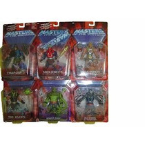 Masters Of The Universe 6 Fig. Serie 6 Rap Jaw Y Mekaneck