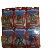 Masters Of The Universe 6 Fig. Serie 5 Orko, Trap Jaw, Etc.
