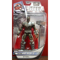 Steel Superman Dc Direct Total Heroes Ugo