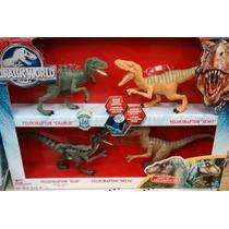 Jurassic World Velociraptor Pack Exclusivo Target 4 Figuras