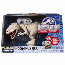 Indominus Rex Jurassic World Zoomer Dino Electronico