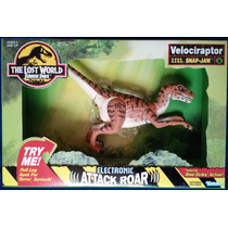 Jurassic Park The Lost World Snap Jaw Velociraptor Nuevo!!