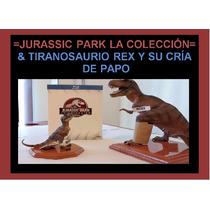Papo Tiranosaurios T-rex Y Jurassic World Blu-ray Tetralogía