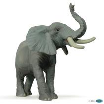 Elefante Papo Aniamles De Colección Pintados A Mano