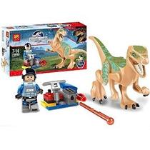 Mini Figuras De Dinosaurios Mundo Jurásico Ladrillos Claire