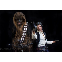 Star Wars Han Solo & Chewbacca Hot Toys Sideshow Disponible