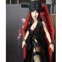 ### Sideshow Elvira In Coffin Premium Format ###