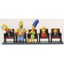 The Simpsons Movie Theater Figura Set - Juego De 5 Máquinas
