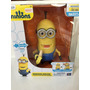 Minion Kevin Con Banana Exclusivo Thinkway 30cm
