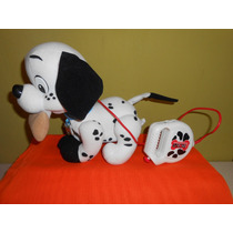 Peluche 102 Dalmatas Electronico Mattel Disney 28 Cms
