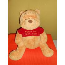 Peluche Winnie Pooh Original Disney Baby 37 Cms Sonaja