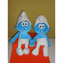 Peluches Pitufos Marca Nanco 53 Cms