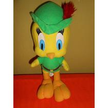 Peluche Piolin Robin Hood 26 Cms Looney Tunes