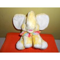 Peluche Elefantita Suave 22 Cms