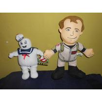 Lote 3 Peluches Cazafantasmas Marca Toy Factory Pegajoso