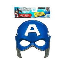 Máscara Del Capitán America Importada Hasbro Idd