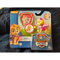 Paw Patrol Skye Action Pack Pup And Badge