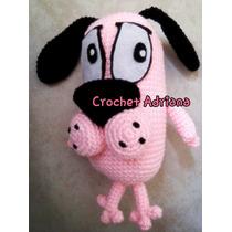 Coraje El Perro Cobarde Amigurumi Crochet