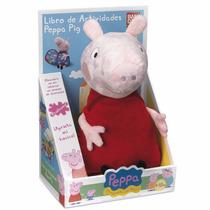 Peppa Pig Libro De Actividades Español 38cm Bandai
